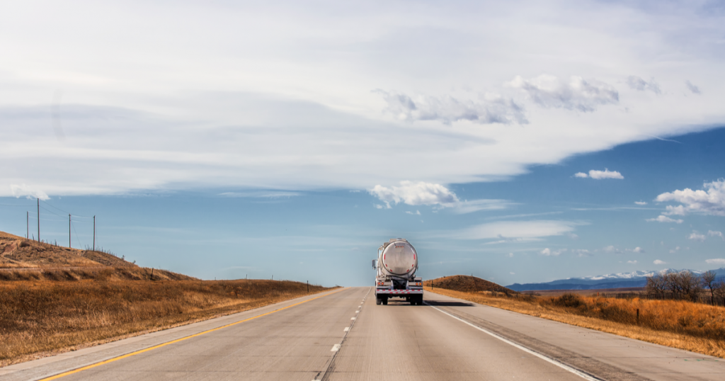 Trucker using ExpressIFTA for IFTA fuel tax reporting
