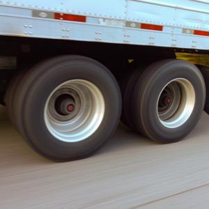 Truck tires of trucker filing 4th quarter IFTA taxes